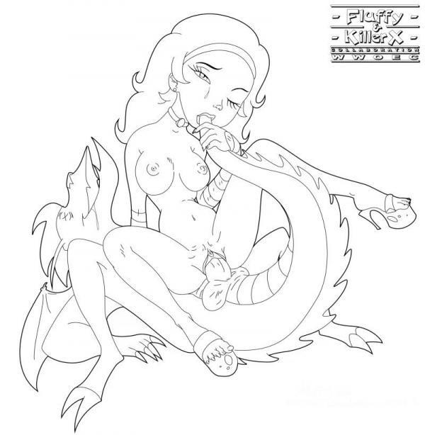 American dragon  Hentai